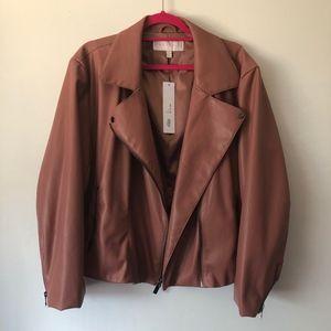 Blush Marybelle Moto Jacket
